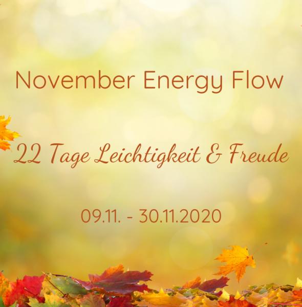 November Energy Flow – 22 Tage Leichtigkeit & Freude