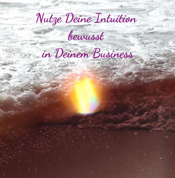 """4-wöchiger Onlinekurs: """"Nutze Deine Intuition BEWUSST für Dein Business!"""""""