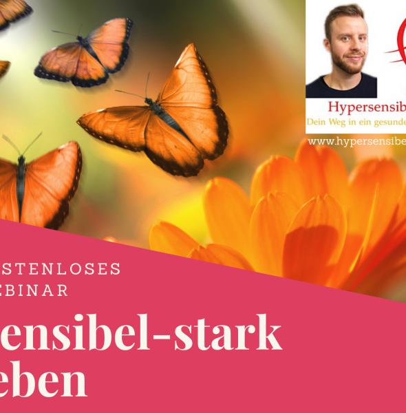 "Kostenloses Webinar ""Sensibel-stark leben"""