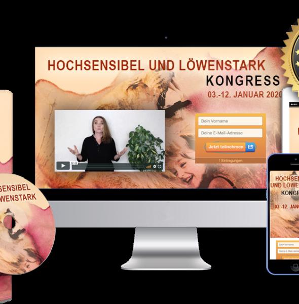 Hochsensibel und LöwenStark Kongress: Experteninterviews für Eltern hochsensibler Kinder